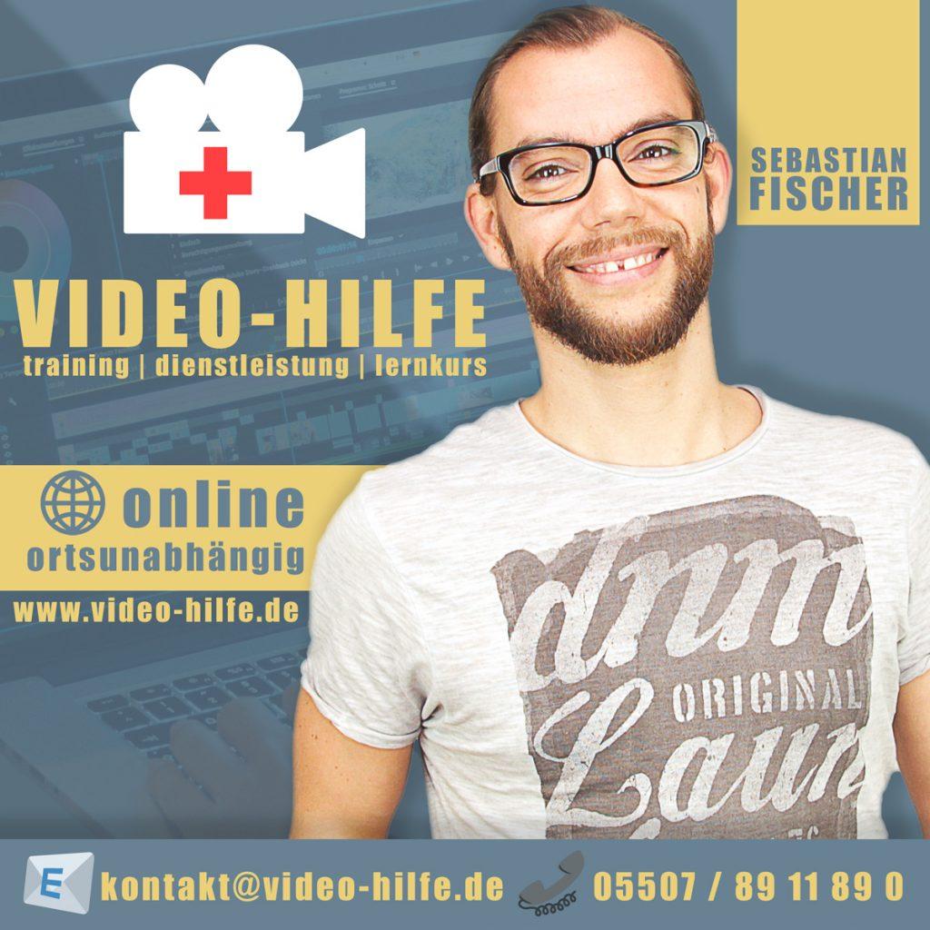 Video-Hilfe | Training | Dienstleistung | Lernkurs | Sebastian Fischer