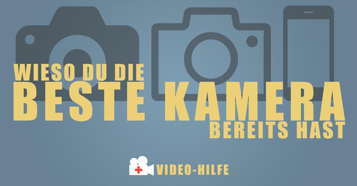 Warum du die beste Kamera bereits hast | Video-Hilfe | Sebastian Fischer