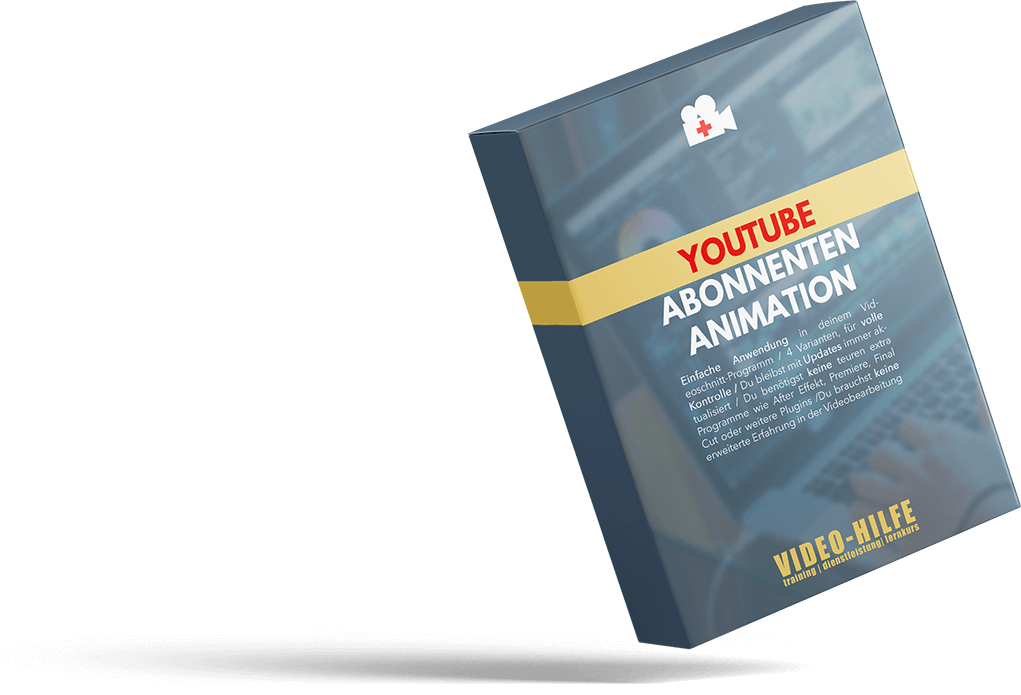 Youtube Abonnieren Button Animation - Produktbox - VIDEO-HILFE